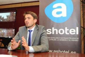 Jorge Marichal, presidente de Ashotel./ DA