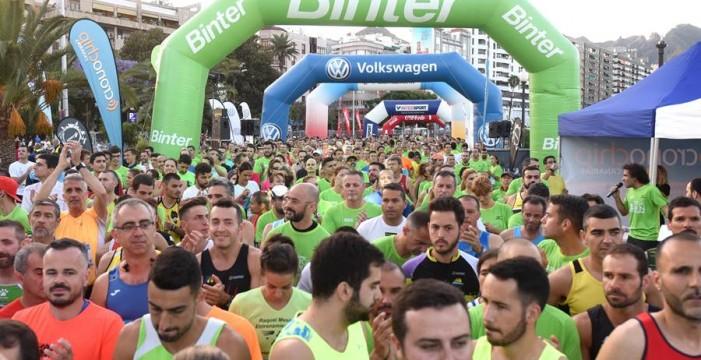 La Binter NightRun de Santa Cruz reunirá este sábado a más de 2.700 corredores
