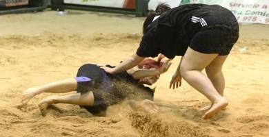 lucha canaria femenina campeonato por categorías