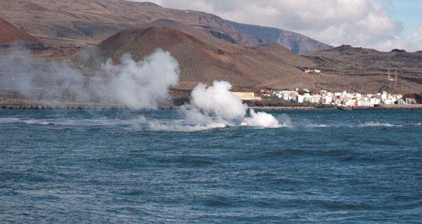 Erupción en El Hierro. / DA