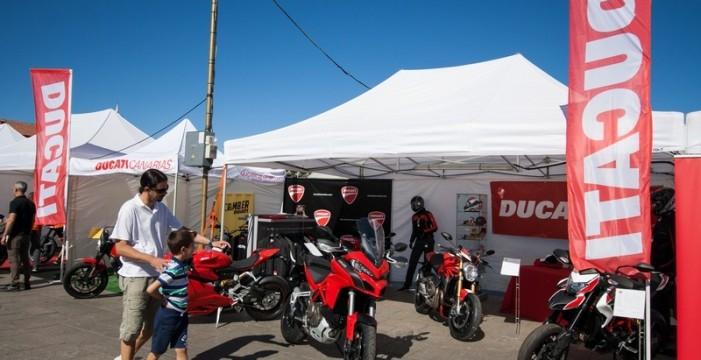 Ducati Canarias vuelve a participar en la Feria Regional de las dos Ruedas de Tenerife