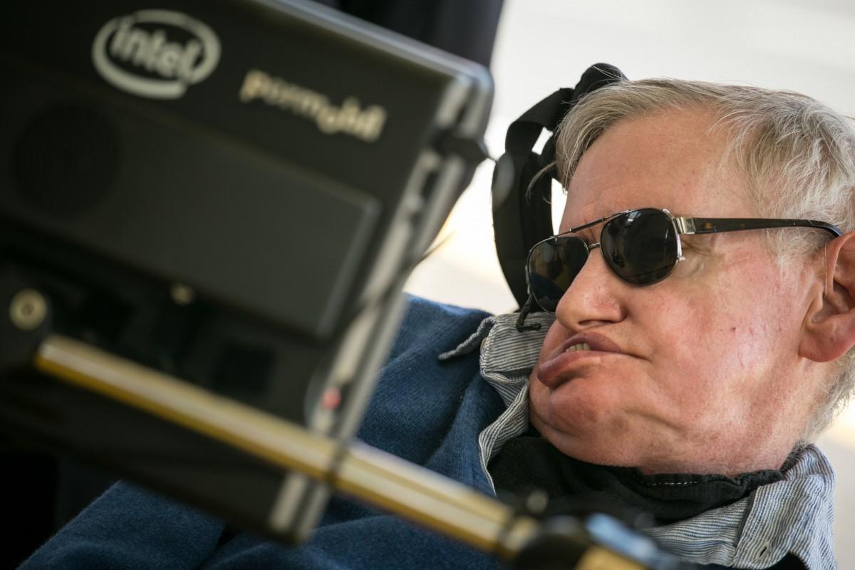 Stephen Hawking, en Starmus