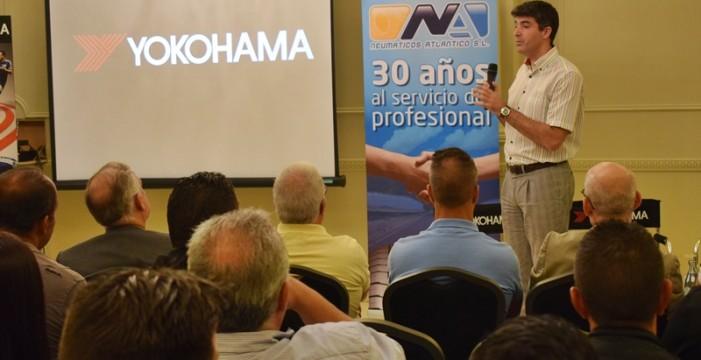 Neumáticos Atlántico presenta las novedades de Yokohama en Tenerife