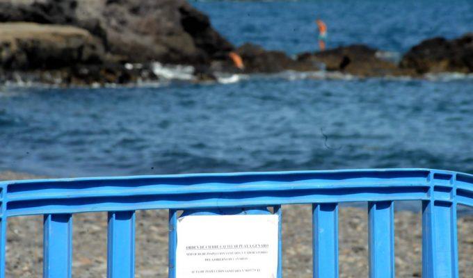Refuerzan los controles en las playas de Arona tras la bacteria E.Coli