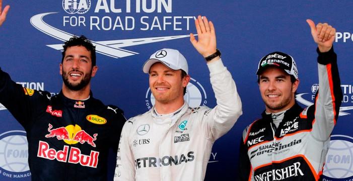 Rosberg vuela en Bakú para lograr la pole