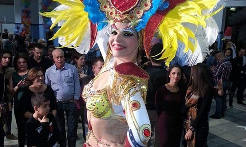A pesar de las secuelas que aún padece, Saida ya volvió al carnaval este año con su comparsa, Los Cariocas. DA
