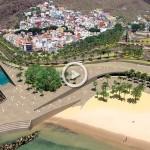 La nueva playa de Las Teresitas apertura
