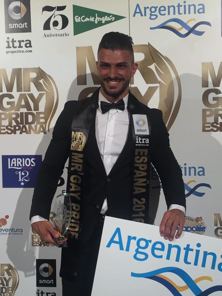 Cándido Arteaga, Mr. Gay Pride Tenerife y España. | MrGayEspaña