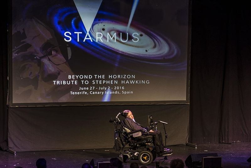 STARMUS 2016 STEPHEN HAWKING