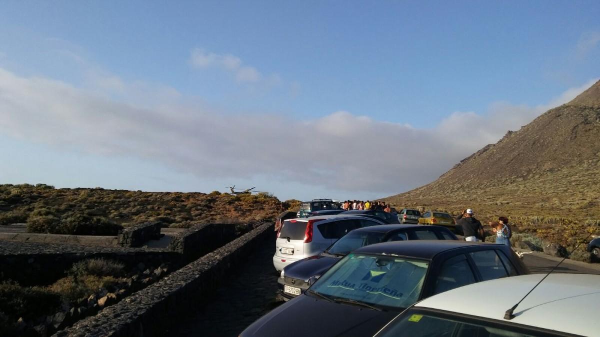 La carretera de punta de teno se viene abajo y a sla a m s de un centenar de personas - Jardineros tenerife ...