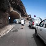La carretera se reabrió al tráfico el pasado verano después de estar cerrada cerca de dos años para la mejora de la seguridad. F. PALLERO