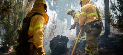 Alertan de un conato de incendio en Arico