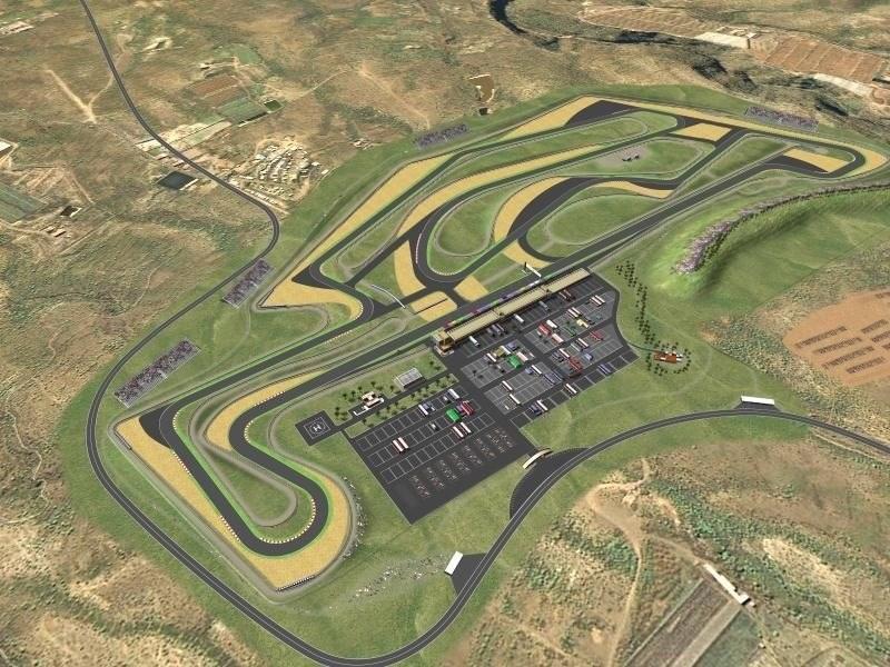 Proyecto del circuito de motor en Granadilla. | DIARIODETENERIFE.INFO