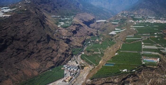 Los barrancos de Las Angustias, Las Nieves y La Paloma, prioridad por los riesgos de inundación