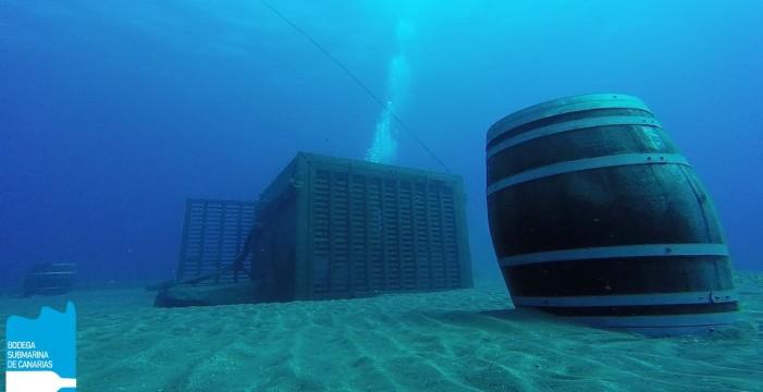 El vino que envejece en el fondo del mar