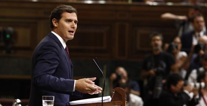 Cs divide al Congreso en su apoyo al Gobierno ante al independentismo