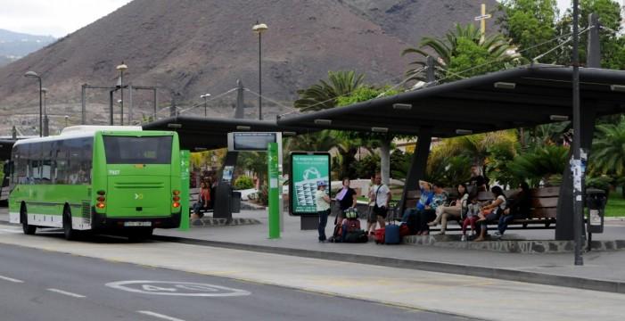El transporte urbano en guagua aumenta un 2,9% en noviembre en Canarias con 5,1 millones de pasajeros
