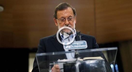 Rajoy será el único en intervenir en el Debate de Investidura el martes, el resto al día siguiente