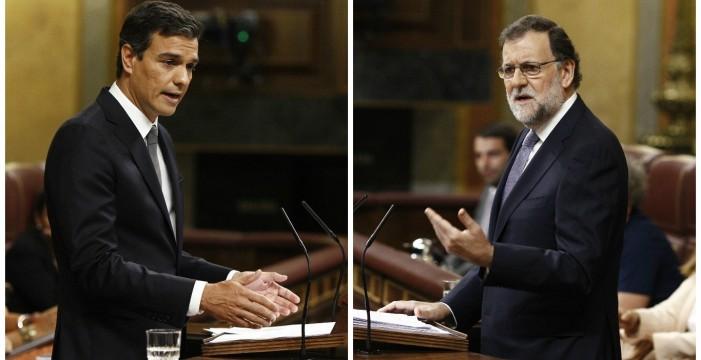 Podemos y NC apoyarían la censura de Sánchez a Rajoy