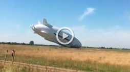 Airlander 10, la aeronave más grande del mundo, se estrella al segundo vuelo