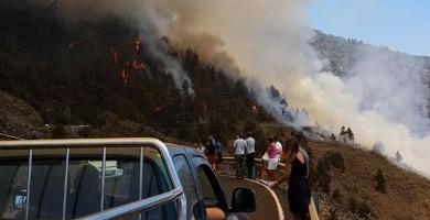 Declarada la alerta por riesgo de incendios forestales en Canarias