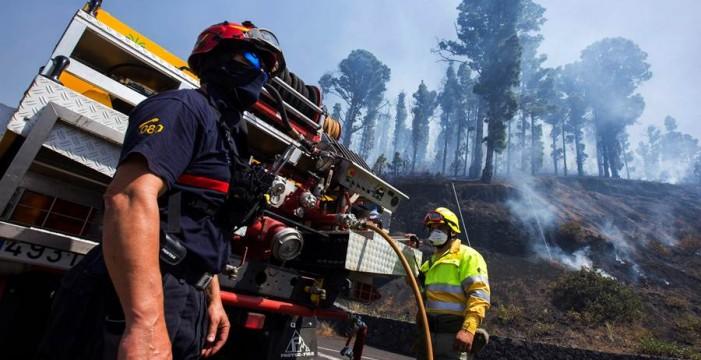 La Palma, en alerta ante el riesgo de incendios