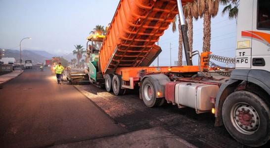 Mejoras en las carreteras insulares por 1,3 millones