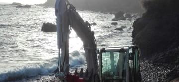 El Consistorio mejora la accesibilidad y la seguridad de la playa de Las Aguas