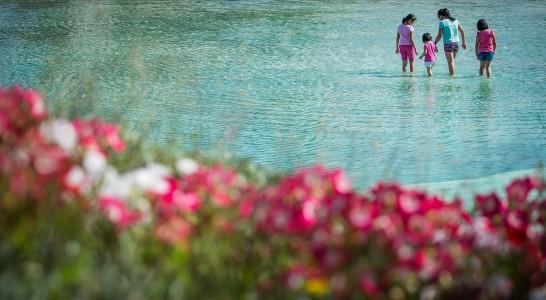 Ni piscina ni playa:  es solo una fuente