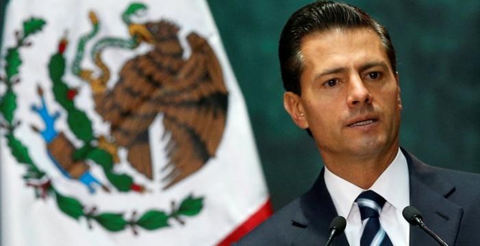 """Peña Nieto responde a Trump: """"México no pagará"""" el muro"""