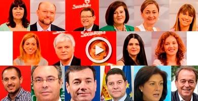 El PSOE elimina de su web el rastro de los 17 críticos dimitidos