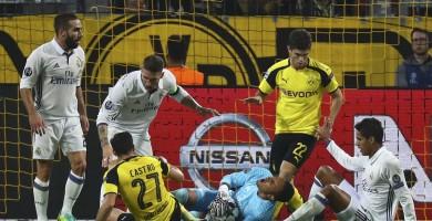 El Madrid deja escapar dos puntos en el tramo final del partido