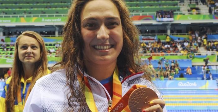 Ariadna Edo, bronce en los 400 libres S13, da la décima medalla a España