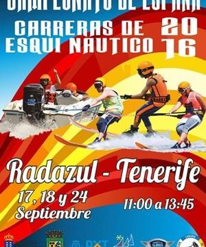 Radazul acoge este fin de semana el Campeonato de España de Esquí Náutico