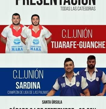 El Tijarafe Guanche presenta su ilusionante proyecto ante el Sardina