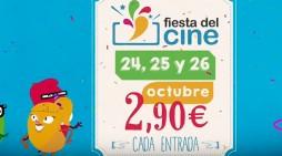 Vuelve la Fiesta del cine del 24 al 26 de octubre con entradas a 2,90 euros