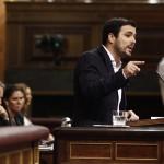 Alberto Garzón en el Congreso de los Diputados | FOTO: EUROPA PRESS