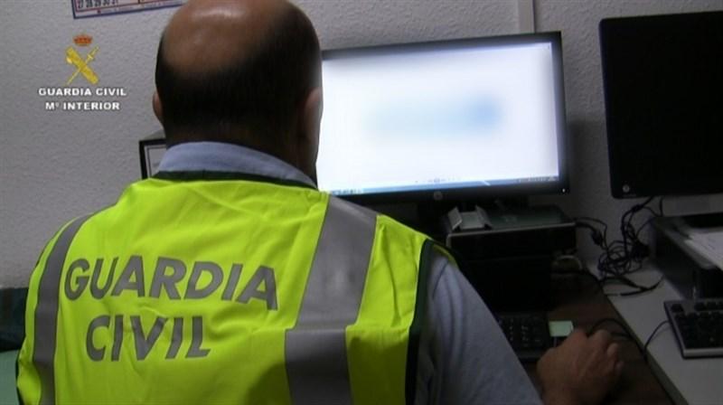 Guardia Civil de la unidad de delitos informáticos | FOTO: EUROPA PRESS