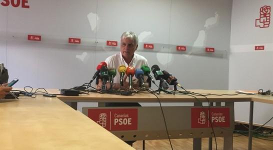 """Pérez: Si CC no quería romper el pacto en Canarias """"ha hecho oposiciones a ello"""""""