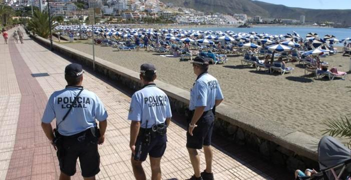 Los policías locales de Arona revelan la falta de seguridad en las fiestas