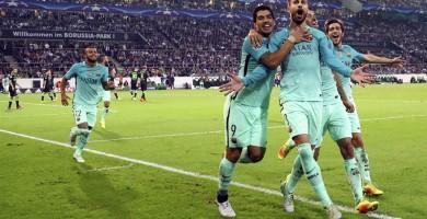 Remontada del Barça y primero de grupo