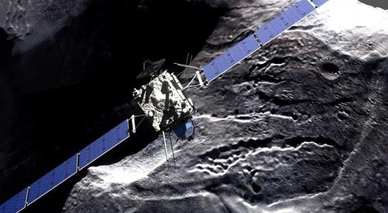 La nave espacial Rosetta termina su misión y se apaga tras aterrizar en un cometa