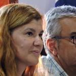 Socorro González y Francisco del Rosario, dos de los concejales del PP más activo durante el pleno de ayer tarde/ NORCHI