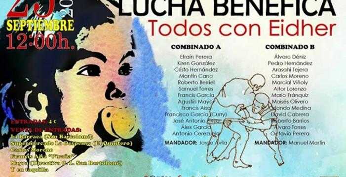Luchada benéfica Todos con Eidher en Lanzarote
