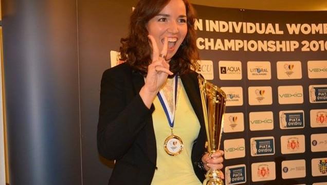 La canaria Sabrina Vega roza la medalla en las Olimpiadas de Bakú