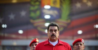 Nicolas Maduro en el aeropuerto de Maiquetia, Caracas | FOTO: REUTERS