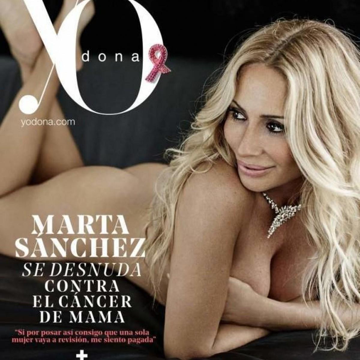 Marta Sánchez Se Desnuda En Su Lucha Contra El Cáncer
