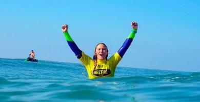 Alexandra Rinder conquista el subcampeonato mundial de bodyboard