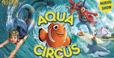 Consigue entradas para el Circo Alegría en Santa Cruz de La Palma