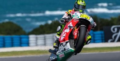 Crutchlow suma su segunda victoria en MotoGP tras el error de Márquez